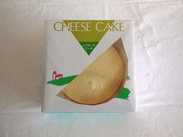 レアチーズケーキの写真
