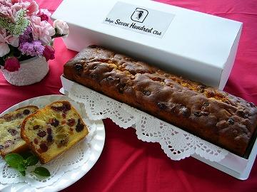 フルーツケーキの写真